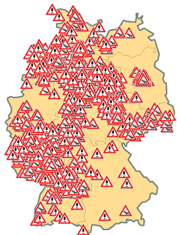 Aktuelle Verkehrsinformation